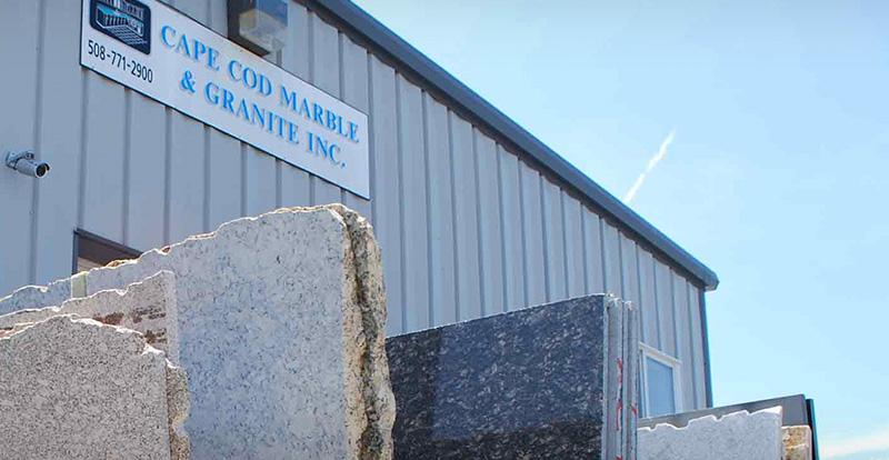 Cape Cod Marble and Granite Showroom